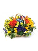 D47.0 Spring Basket Arrangement