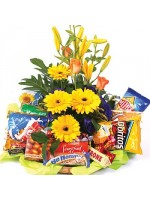 D28.0 Flowers & Nibbles Basket