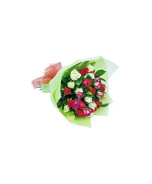C12.3 Mixed Rose Bouquet