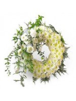 Mix flower wreath