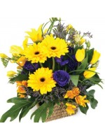 D13.0 Summer Basket Arrangement