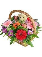 Flowers in Basket