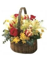Basket floral