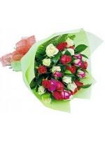 C12.3 Mixed Rose Bouquet