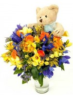 D37.0 Bouquet with Soft Toy