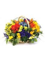 D47.0 Spring Basket Arrangement