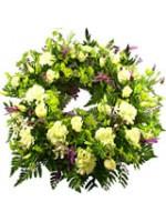 B.Cottage Garden Wreath