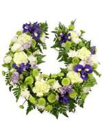 C.Horseshoe floral tribute