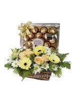 Ferrero Rocher Flower Basket- Myanmar